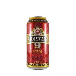baltika 9 svetlo jako pivo 0.9l