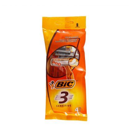 Bic 3 Sensitive brijači 4 kom