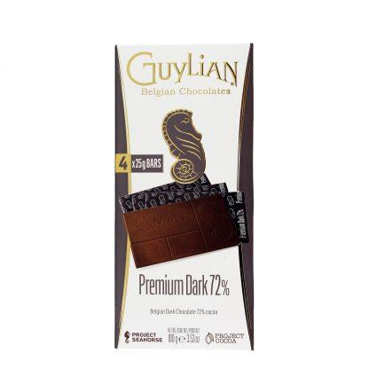 Guylian čokolada Premium Dark 72% 100g