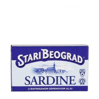 Sardine Stari Beograd 100g