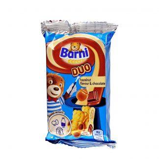 Barni Duo biskvit lešnik i čokolada 30g
