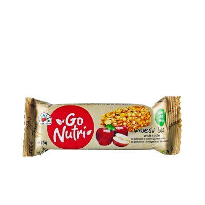 Go Nutri musli bar jabuka 25g