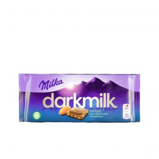 Milka čokolada Dark milk badem 85g