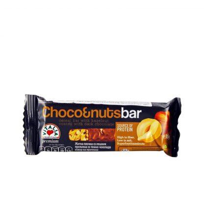 Musli bar lešnik i čokolada 35g