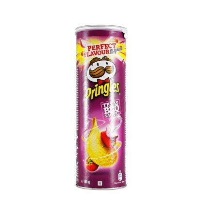 Pringles čips BBQ 165g
