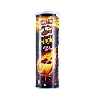 Pringles čips Hot&Spicy 165g
