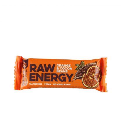 Raw energy bar pomorandža i kakao 50g