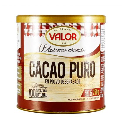 Valor kakao prah bez šećera 250g