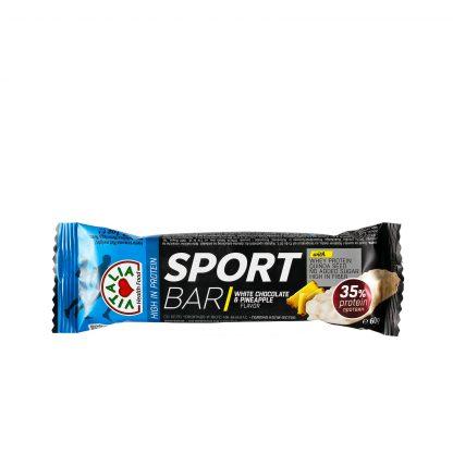 Sport bar bela čokolada i ananas 60g