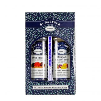 St. Dalfour voćni namazi poklon paket 2x284g + kašičica