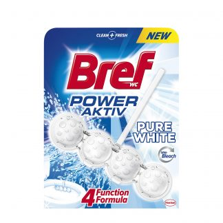 Bref Power Pure White osveživač za WC šolju 50g
