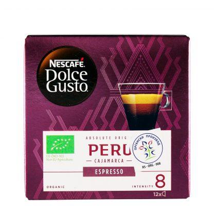 Nescafe Dolce Gusto Peru espreso kafa 12 kom