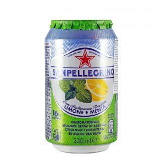 San Pellegrino gazirano piće limun i nana 330ml