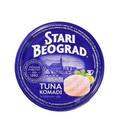 Tuna komadi Stari Beograd 160g