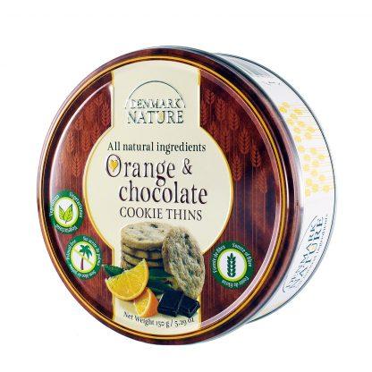 Jacobsens Denmark Nature keks pomorandža i čokolada 150g