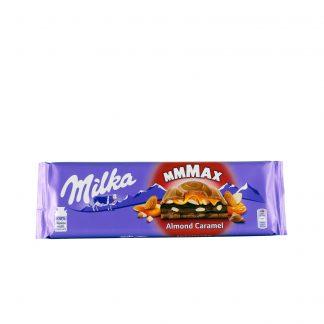 Milka Mmmax punjena čokolada badem karamel 300g