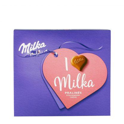 Milka praline Strawberry Creme 110g