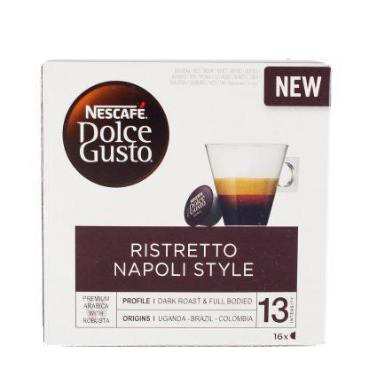 Nescafe Dolce Gusto Ristretto Napoli kafa 16 kom