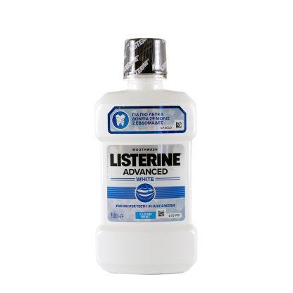 Listerine tečnost za ispiranje usta Advanced white 250ml