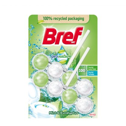Bref Power ProNature Mint osveživač za WC šolju 2X50g