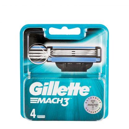 Gillette Mach3 dopuna 4 patrone
