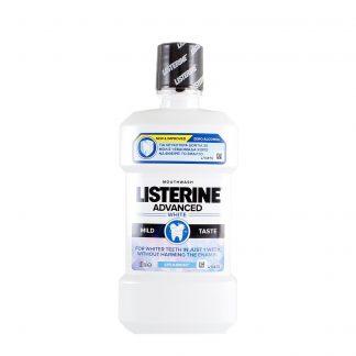 Listerine tečnost za ispiranje usta Advanced White Mild 500ml