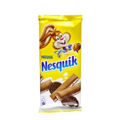 Nesquik čokolada sa mlečnim punjenjem i keksom 100g