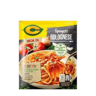 C Ideja za špagete bolonjeze 50g