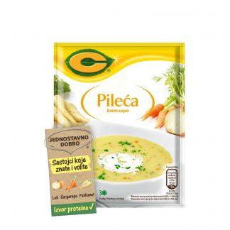 C Krem pileća supa 54g