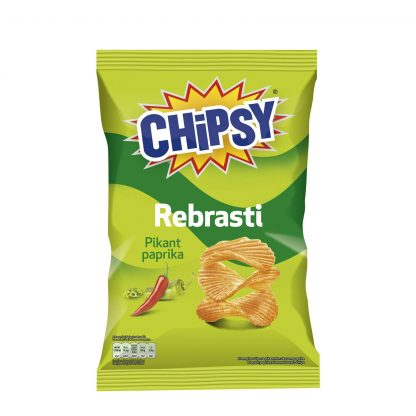 Chipsy rebrasti Pikant paprika 40g