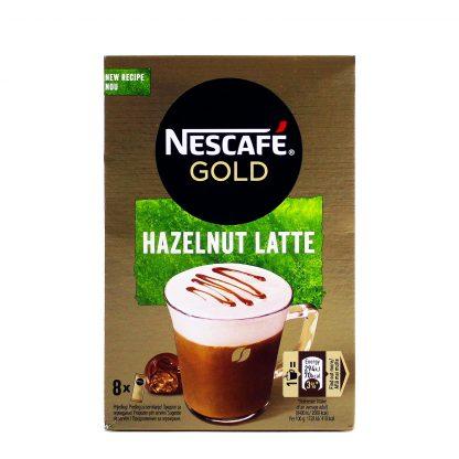 Nescafe kafa Gold Hazelnut Latte 8kom