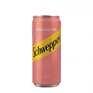 Schweppes Pink Grapefruit limenka 0.33l