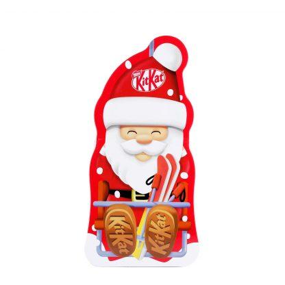 Kit Kat čoko Deda Mraz metalna kutija 131g