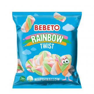 Bebeto bombone Rainbow Twist Marshmallow 60g