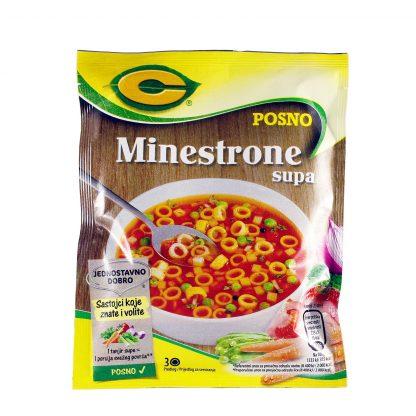 C Minestrone supa 62g