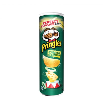Pringles čips Cheese&Onion 165g