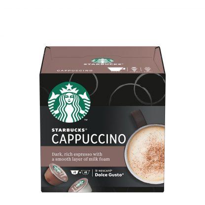 Starbucks Dolce Gusto Cappuccino kafa 2x6kom