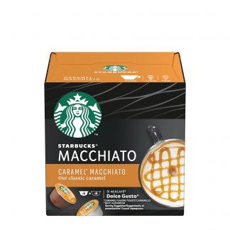 Starbucks Dolce Gusto Caramel Macchiato kafa 2x6kom
