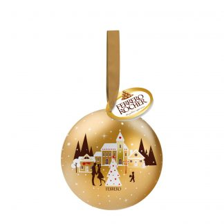Ferrero Rocher u limenoj kugli 37g