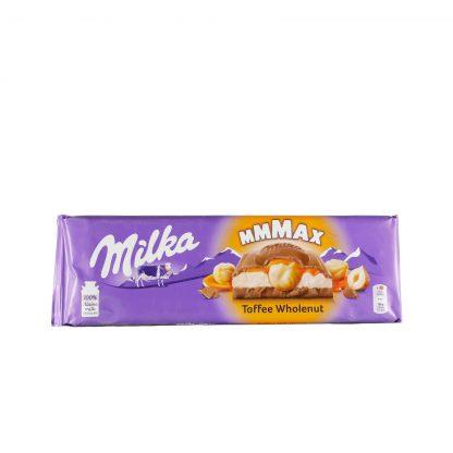 Milka Mmmax punjena čokolada Toffee Wholenut 300g