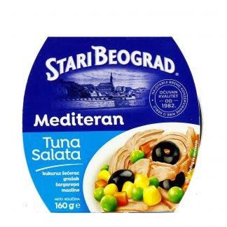Tuna salata Mediteran Stari Beograd 160g