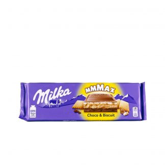 Milka Mmmax čokolada Choco & Biscuit 300g