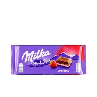 Milka Strawberry čokolada 100g