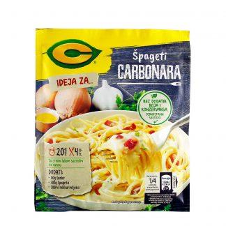 C Ideja za špagete carbonara 37g