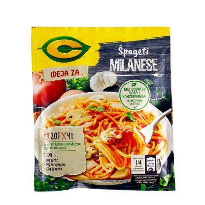 C Ideja za špagete milanese 45g