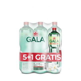 Aqua Gala voda gazirana 1.5l (5+1 gratis)
